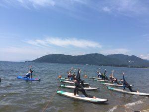 琵琶湖マリンスポーツ(協会公認ゲレンデ)にて定期レッスン開始!