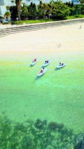 「波の上うみそら公園内波の上ビーチ」からお知らせです!